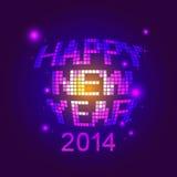 Guten Rutsch ins Neue Jahr-Partei lizenzfreie abbildung