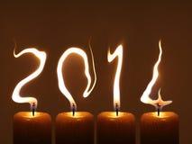 Guten Rutsch ins Neue Jahr 2014 - PF 2014 Lizenzfreies Stockbild