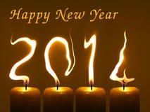Guten Rutsch ins Neue Jahr 2014, PF 2014 Stockfotos