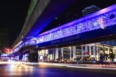 Guten Rutsch ins Neue Jahr Ratchaprasong 2013 Lizenzfreie Stockfotografie