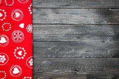 2017-guten Rutsch ins Neue Jahr-Tabelle mit Zucker und Schokolade Lizenzfreies Stockfoto