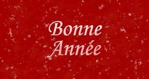 Guten Rutsch ins Neue Jahr-Text auf französisch Lizenzfreie Stockfotos