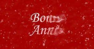 Guten Rutsch ins Neue Jahr-Text auf französisch Lizenzfreies Stockbild