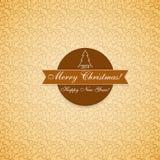 Guten Rutsch ins Neue Jahr und frohe Weihnachten Stockfoto