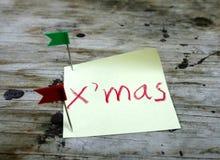 Guten Rutsch ins Neue Jahr 2014 und frohe Weihnachten Stockbild