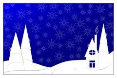 Guten Rutsch ins Neue Jahr, 2018, Vektorillustration der frohen Weihnachten Lizenzfreie Stockbilder