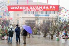 Guten Rutsch ins Neue Jahr in Vietnam Stockfotografie