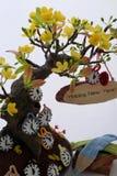 Guten Rutsch ins Neue Jahr, Vietnam-tet Hintergrund Stockfotografie