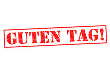 GUTEN TAG! Stock Image