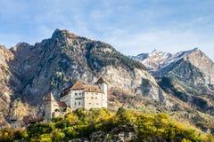 Gutenberg castle,Liechtenstein stock image
