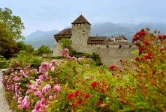 Gutenberg Castle in Vaduz, Liechtenstein. This castle is the pal royalty free stock images