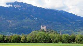 Gutenberg kasztel w Balzers, Liechtenstein Obraz Stock