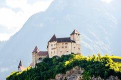 Gutenberg kasztel w Liechtenstein Zdjęcia Stock