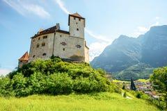 Gutenberg kasztel w Liechtenstein Obrazy Royalty Free