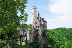 gutenberg Liechtenstein de château Photos libres de droits