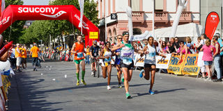 Gutenberg Marathon 2011 in Mainz, Germany Royalty Free Stock Photo