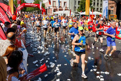 Gutenberg Marathon 2011 in Mainz, Germany Stock Photos