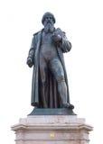 Gutenberg monument Arkivfoton