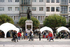 Gutenberg Monument Mainz Stock Photo