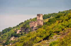gutenfels замока Стоковое Изображение RF