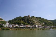 Gutenfels castle royalty free stock photography