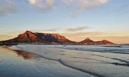 Gutenmorgen Cape Town Lizenzfreie Stockfotografie