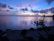 Gutenmorgen Kauaians lizenzfreies stockbild