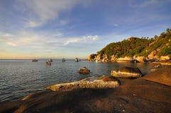 Gutenmorgen Koh Tao-Insel Stockbild
