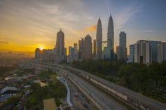 Gutenmorgen Kuala Lumpur Lizenzfreie Stockfotos