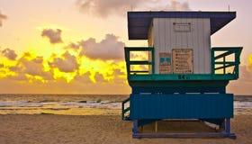 Gutenmorgen-Miami Beach Stockbild