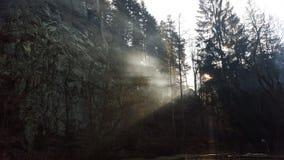 Gutenmorgen rockclimbers Stockfotos