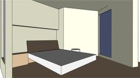 Guter Schlafzimmer-guter Traum Stockfoto
