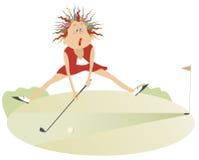 Guter Tag für das Spielen des Golfs Lizenzfreie Stockfotografie
