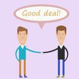 Gutes Abkommen Lizenzfreie Stockfotos