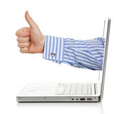 Gutes Angebot des Internets Stockfoto