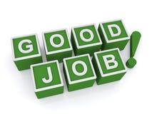 Gutes Jobzeichen Stockbilder