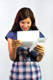 Gutes Newsletter lizenzfreie stockbilder