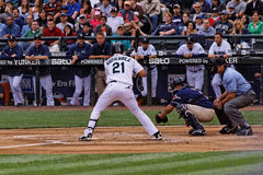 Gutierrez Mariners Baseball Team Royalty Free Stock Image