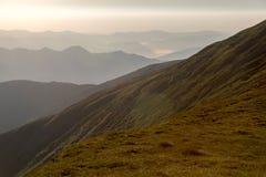 Gutin Tomnatyk,喀尔巴阡山脉 图库摄影