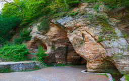 Gutmanis Cave in Sigulda Royalty Free Stock Image