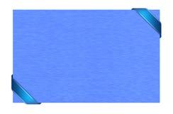 Geschenkkarte Lizenzfreies Stockbild
