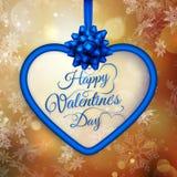 Gutschein Tag des Valentinsgrußes s ENV 10 Stockfotografie