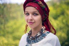 Gutsulka en el bosque cárpato Fotografía de archivo libre de regalías