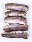 Gutted carcasses of fish Royalty Free Stock Photography