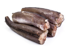 Gutted carcasses of fish Royalty Free Stock Images