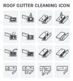 Gutter Cleaning Icon Royalty Free Stock Image