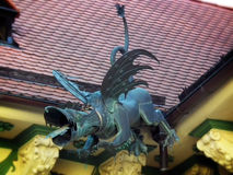 Gutter dragon Stock Photography