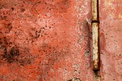 A gutter pipe on a grunge wall Stock Photo