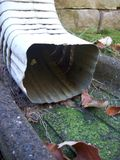 Gutter Spout Royalty Free Stock Images