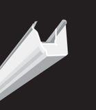 Guttering preto Imagem de Stock
